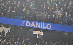Confirmation that Manchaster City's Danilo scored