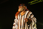 Cimiez, Nice. France. July 22nd 2006..George Clinton performs at the Nice Jazz Festival (Scène Jardin)