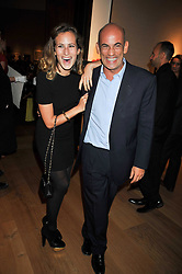 CHARLOTTE DELLAL and her father GUY DELLAL at fundraising dinner and auction in aid of Liver Good Life a charity for people with Hepatitis held at Christies, King Street, London on 16th September 2009.