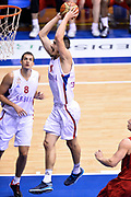 DESCRIZIONE : Trieste Torneo internazionale Serbia Canada<br /> GIOCATORE : Nikola Kalinic<br /> CATEGORIA : Schiacciata<br /> SQUADRA : Serbia Serbia<br /> EVENTO : Torneo Internazionale Trieste<br /> GARA : Serbia Canada<br /> DATA : 04/08/2014<br /> SPORT : Pallacanestro<br /> AUTORE : Agenzia Ciamillo-Castoria/Max.Ceretti<br /> Galleria : FIP Nazionali 2014<br /> Fotonotizia : Trieste Torneo internazionale Serbia Canada