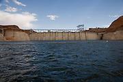 Glen Cayon Dam, Lake Powell, Page, Arizona<br />