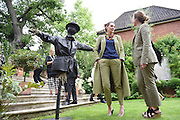 CHARLOTTE PHILLLIPS; DANIELLA GAREH;  ELMGREEN AND DRAGSET SCULPTURE; , Dinner to celebrate the 10th Anniversary of Contemporary Istanbul Hosted at the Residence of Freda & Izak Uziyel, London. 23 June 2015