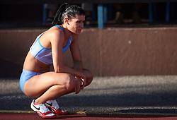 Radmila Vukmirovic at Athletic National Championship of Slovenia, on July 19, 2008, in Stadium Poljane, Maribor, Slovenia. (Photo by Vid Ponikvar / Sportal Images).