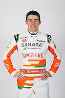 MOTORSPORT - F1 2013 - WINTER TESTS - JEREZ DE LA FRONTERA (ESP) - 05 TO 10/02/2013 - PHOTO : DPPI -.DI RESTA PAUL (GBR) - FORCE INDIA VJM06 - AMBIANCE PORTRAIT
