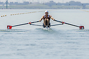2005, World Rowing Championships, Nagaragawa International Regatta Course, Gifu, JAPAN: Monday  29.08.2005. SUI LM1X Tim Eichmann.  © Peter Spurrier/Intersport Images - email images@intersport-images.com