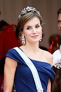 Spanish Royals visit UK - Day 2 - Lord Mayor Dinner