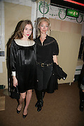 ANOUSKHA BECKWITH AND TAMARA BECKWITH, Young Vic fundraising Gala after performance of Vernon God Little. The cut. London. 10 May 2007.  -DO NOT ARCHIVE-© Copyright Photograph by Dafydd Jones. 248 Clapham Rd. London SW9 0PZ. Tel 0207 820 0771. www.dafjones.com.
