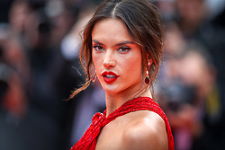 """Alessandra Ambrosio attends the screening of """"Les Miserables"""" during the 72nd annual Cannes Film Festival on May 15, 2019 in Cannes, France. Photo by Shootpix/ABACAPRESS.COM"""