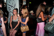 EMILY REIDY; EMILIA BRUNICKI, launch of Fabulous Haircare Range, Frankie's Italian Bar and Grill, 3 Yeomans Row, off Brompton Road, London SW3, 7pm