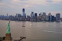 Statue of Liberty & Lower Manhattan Skyline