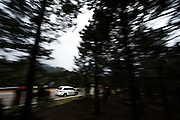 June 30, 2013 - Pikes Peak, Colorado.   Simon Pagenaud makes his run up the mountain during the 91st running of the Pikes Peak Hill Climb.