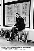 Natasha Esch presidentof Wilhelmina Models. NYC 1993.© Copyright Photograph by Dafydd Jones<br />66 Stockwell Park Rd. London SW9 0DA<br />Tel 0171 733 0108