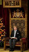 Prinsjesdag 2013 Koning Willem-Alexander leest de troonrede voor in de Ridderzaal op het Binnenhof<br /> <br /> Budget Day 2013 King Willem-Alexander reads the throne speech to the Knights of the Binnenhof<br /> <br /> HANDOUT / POOL/HANDOUT / FRANK VAN BEEK / EDITORIAL USE ONLY.