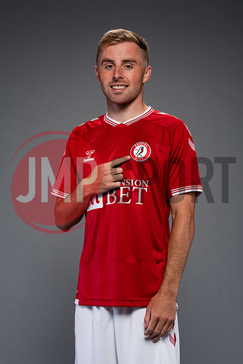 Joe Morrell as Bristol City release their Home Shirt ahead of the 2020/21 Sky Bet Championship Season season - Rogan/JMP - 31/08/2020 - Ashton Gate Stadium - Bristol, England - Sky Bet Championship.