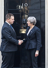 2018-01-30 Estonian PM welcomed by Theresa May at 10 Downing Street