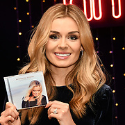 Katherine Jenkins signing autography at hmv Oxford Street, 5th December 2018, London, UK