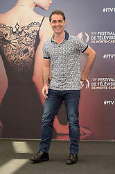 "actor Pedro Alonso"" attends ""La casa de papiel"" photocall during 58th Monte-Carlo International Television Festival. 19 Jun 2018 Pictured: Pedro Alonso. Photo credit: maximon / MEGA TheMegaAgency.com +1 888 505 6342"