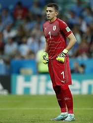 Uruguay goalkeeper Fernando Muslera during the 2018 FIFA World Cup Russia round of 16 match between Uruguay and at the Fisht Stadium on June 30, 2018 in Sochi, Russia