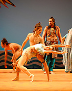 GASTON DE CARDENAS/EL NUEVO HERALD -- Scene from act I from Florida Grand Opera production of 'The Pearl Fishers'.