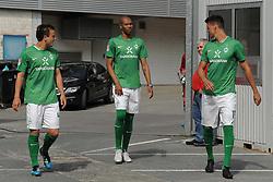 16.07.2011, Trainingsgelaende Werder Bremen, Bremen, GER, 1.FBL, Training Werder Bremen, im Bild Philipp Bargfrede (Bremen #44), Naldo (Bremen #4), Sandro Wagner (Bremen #19)   // during training session from Werder Bremen 2011/07/16    EXPA Pictures © 2011, PhotoCredit: EXPA/ nph/  Frisch       ****** out of GER / CRO  / BEL ******