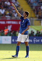 Foto Omega/Colombo<br /> 26/06/2006 Campionati Mondiali di Calcio 2006<br /> Ottavi di Finale <br /> Italia -Australia  <br /> nella foto  Fabio Grosso