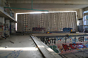 Luminy abandoned swimming pool in Marseille