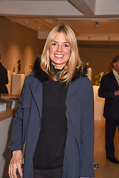 Isabella Branson at a private view of recent work by Georgiana Anstruther held at the Sladmore Gallery, 32 Bruton Place, London England. 08 November 2018. <br /> <br /> ***For fees please contact us prior to publication***