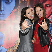 Bloom Twins Ukrainian-born English pop music group & actress arrives at Tresor Paris In2ruders - launch at Tresor Paris, 7 Greville Street, Hatton Garden, London, UK 13th September 2018.