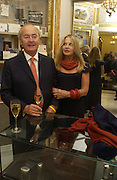 Ned Ryan and Lady Weinberg,  The Moneypenny diaries book launch. Smythson, 40 New Bond St. London.  4 October 2005. . ONE TIME USE ONLY - DO NOT ARCHIVE © Copyright Photograph by Dafydd Jones 66 Stockwell Park Rd. London SW9 0DA Tel 020 7733 0108 www.dafjones.com