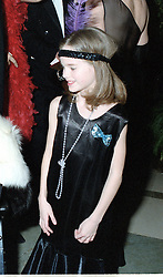 CRESSIDA BONAS at a party in London on 27th January 1998.MEW 12