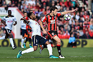 Tottenham Hotspur Defender, Danny Rose (3) and AFC Bournemouth Midfielder, Harry Arter (8) during the Premier League match between Bournemouth and Tottenham Hotspur at the Vitality Stadium, Bournemouth, England on 22 October 2016. Photo by Adam Rivers.