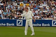 2004 1st NPower Test  - England v New Zealand. <br /> 20/05/2004<br /> Andrew Flintoff<br /> <br /> <br />  <br /> <br />     [Credit Peter Spurrier Intersport Images}