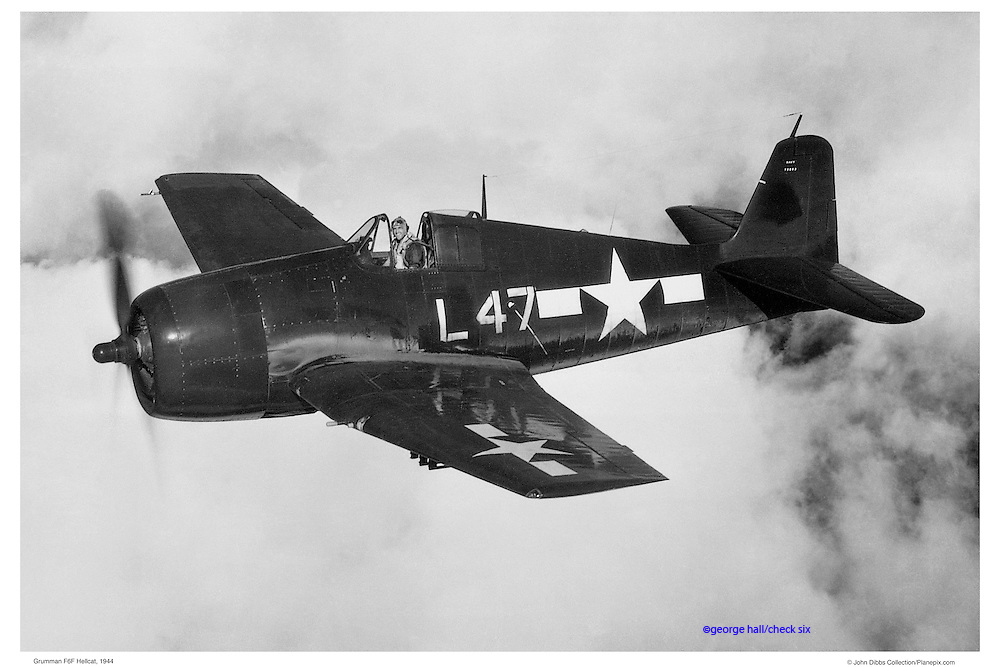 Hellcat, aerial WWII