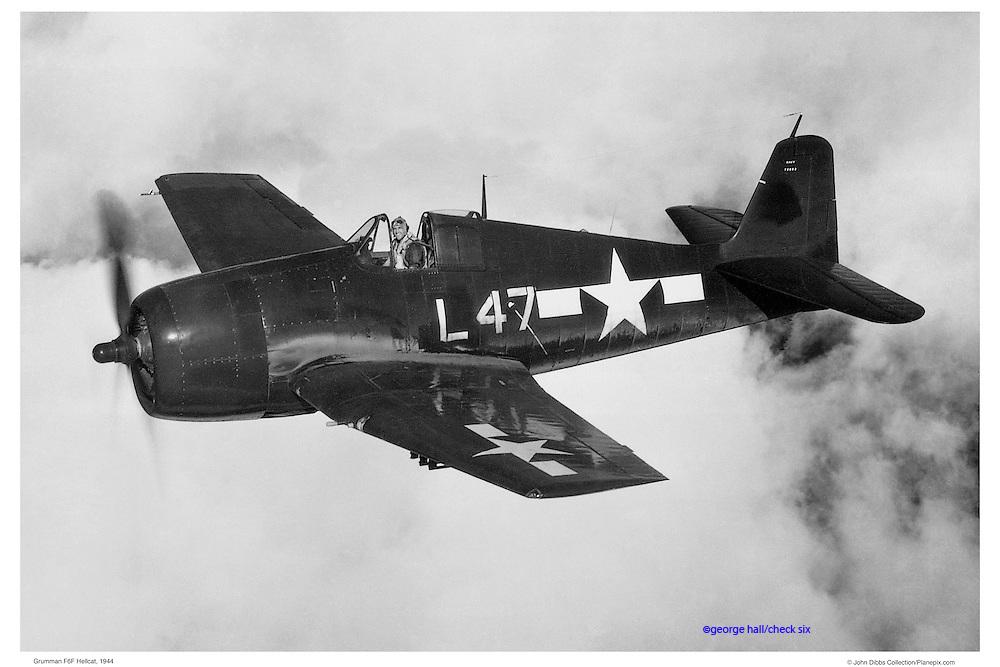 Hellcat, aerial WWII