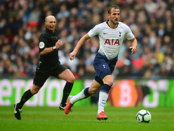 Harry Kane of Tottenham Hotspur - Mandatory by-line: Alex James/JMP - 06/10/2018 - FOOTBALL - Wembley Stadium - London, England - Tottenham Hotspur v Cardiff City - Premier League