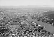 "Ackroyd 08707-11. ""Aerials. November 28, 1956"" Swan Island"