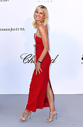 Karolina Kurkova attending the 25th amFAR Gala held at the Hotel du Cap-Eden-Roc in Antibes as part of the 71st Cannes Film Festival
