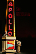 Chuck Mitchell at the Apollo Theater 75th Birthday Celebration Press Conference announcing its special anniversary programming across Harlem, New York, and the Nation.