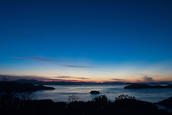 Dusk from One Tree Hill, Hamilton Island, Queensland, Australia