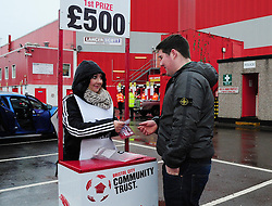 Bristol City Community Trust - Photo mandatory by-line: Dougie Allward/JMP - Tel: Mobile: 07966 386802 29/12/2012 - SPORT - FOOTBALL - Ashton Gate - Bristol -  Bristol City v Peterborough United - Championship.