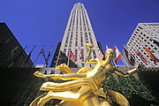 Prometheus, Rockefeller Center, Manhattan, New York
