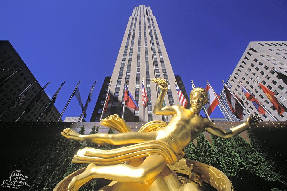 Prometheus, Rockefeller Center, Manhattan, New York