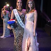 NLD/Scheveningen/20180710 - Finale van Miss Nederland verkiezing 2018, Rahima Dirkse en Nicky Opheij