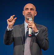 Rick Smith presents during the New Teacher Academy held at the Kingdom Builders Center, July 31, 2014.