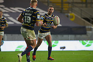 Luke Gale during the Betfred Super League match between Leeds Rhinos and Castleford Tigers at Emerald Headingley Stadium, Leeds, United Kingdom on 26 October 2020.