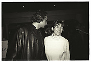 Porin Ivanisevic , Ghislaine Maxwell, Launch N.Y. Office of New Jersey Films, The Lemon, Manhattan, 28 March 1996.
