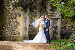 Beautiful Church wedding in the Hertfordshire countryside.