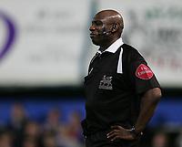 Photo: Lee Earle.<br /> Portsmouth v Aston Villa. The Barclays Premiership. 02/12/2006. Ref Uriah Rennie.