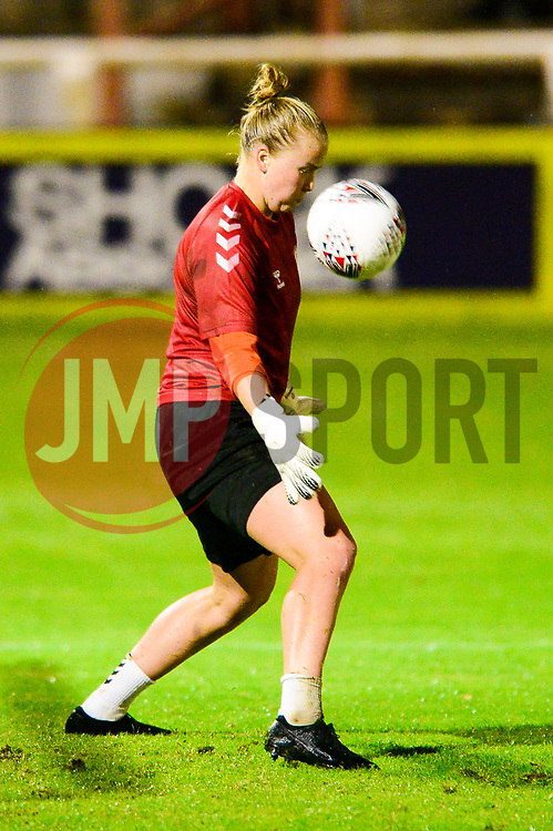Bristol City Women warm up - Mandatory by-line: Dougie Allward/JMP - 07/10/2020 - FOOTBALL - Twerton Park - Bath, England - Bristol City Women v London Bees - FA Continental Cup