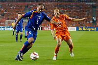 Fotball<br /> Nederland<br /> Foto: ProShots/Digitalsport<br /> NORWAY ONLY<br /> <br /> Nederland - Andorra , 07-09-2005 , wk kwalificatie , antoni lima in duel met arjen robben